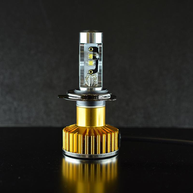 Zeus COUGAR Del Sole LED コンバージョンキット H4 4000K
