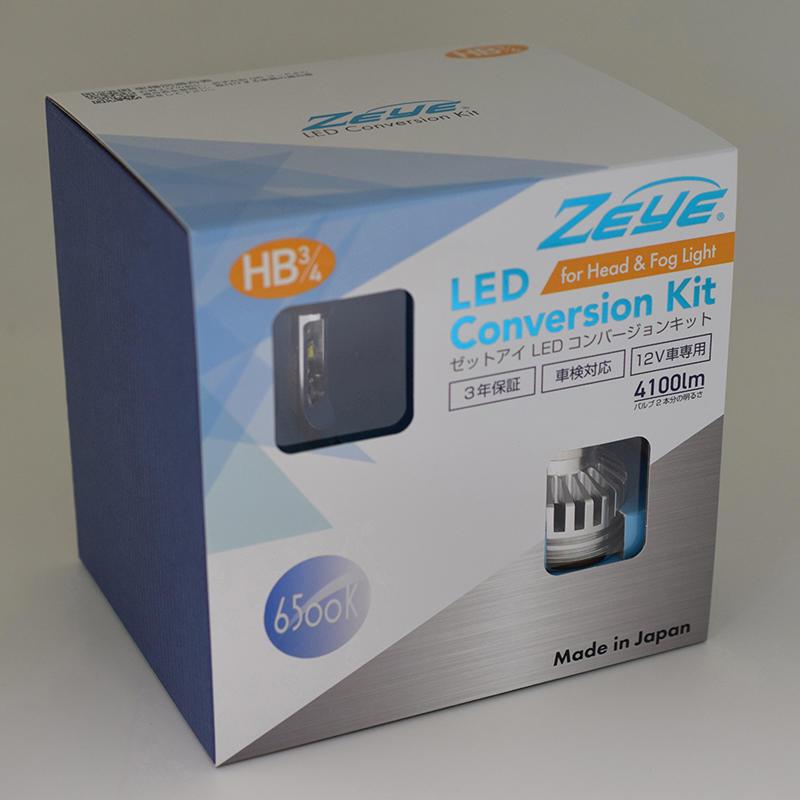 ZEYE LED コンバージョンキット HB3/4 5000K