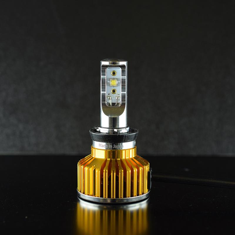 Zeus COUGAR Del Sole LED コンバージョンキット H8/9/11/16 4000K
