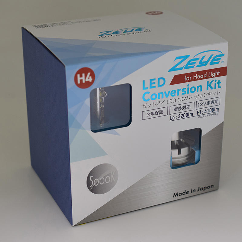 ZEYE LED コンバージョンキット H4 5000K