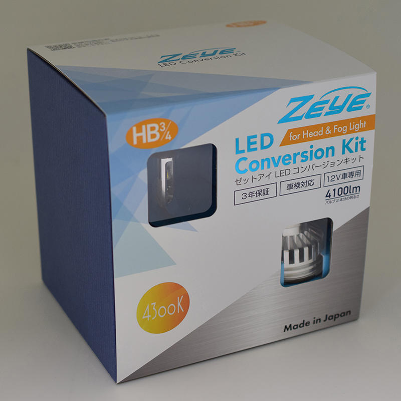 ZEYE LED コンバージョンキット HB3/4 4300K