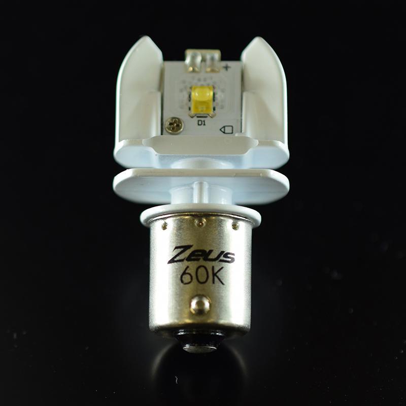 Zeus LED BULB S25シングル 6000K